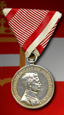 Silver Medal for Bravery, 2nd Class